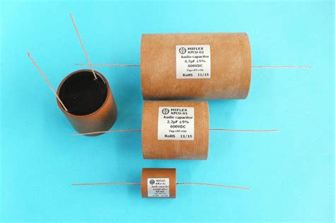 paper in capacitors sound mono and stereo high end audio magazine miflex paper in capacitors are back