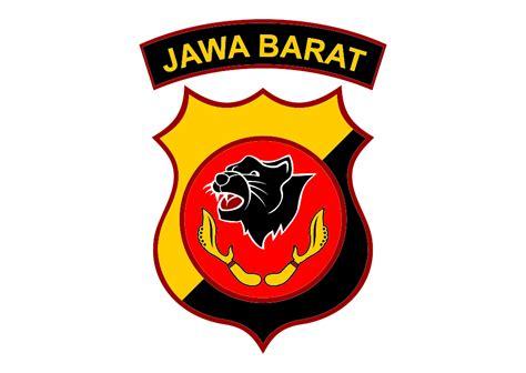 Logo Jawa Barat Bordir logo polda jawa barat vector free logo vector