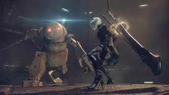 nier automata gameplay footage 60fps confirmed neogaf