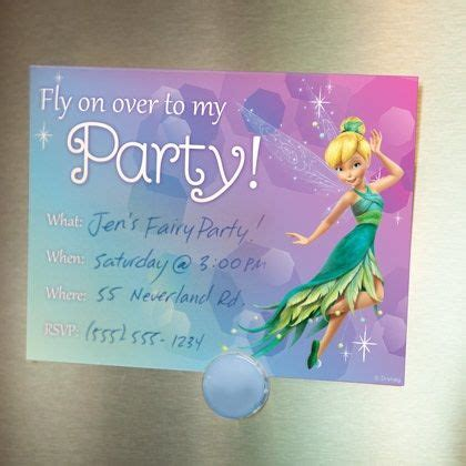 free printable disney fairies birthday invitations disney fairies pixie invitations disney family