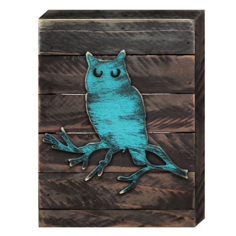 owls o o owl home decor owl rustic wooden board wildlife decor 98215