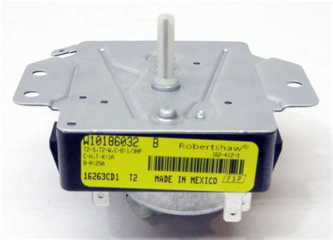 dryer timer motor whirlpool dryer timer wpw10186032 ap6016544