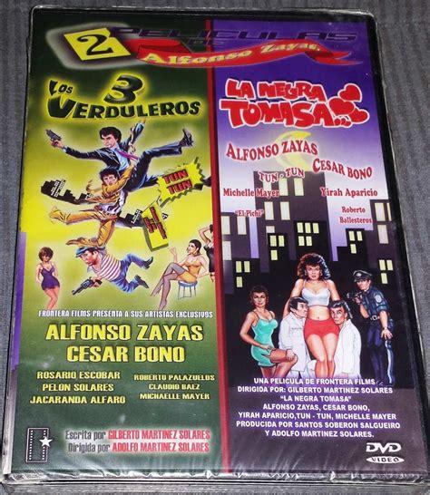 los verduleros 3 pelicula dvd doble los verduleros 3 y la negra tomasa alfonso zayas