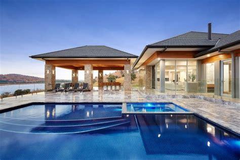 extravagant transitional swimming pool designs  won