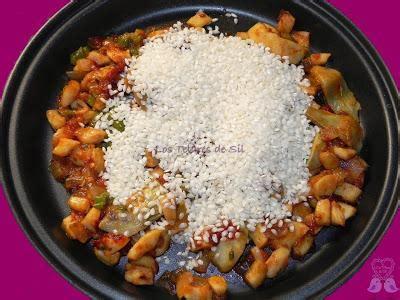 como cocinar el calamar arroz con conejo calamares y alcachofas paperblog