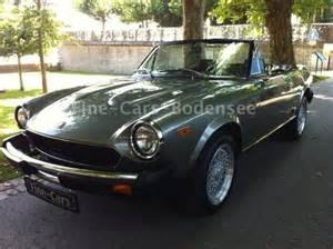 1984 Fiat Spider For Sale Fiat 124 Spider 1984 Convertible Sold Classicdigest