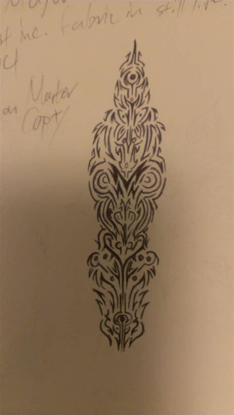 linear pattern tattoo linear tattoo design by kitsunevessel on deviantart