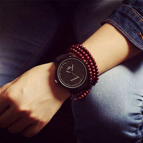 mens womens fashion quartz large wrist