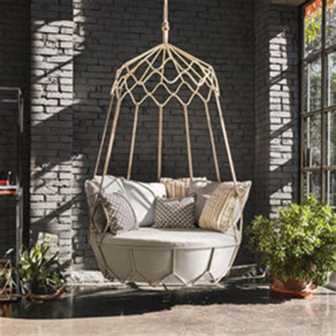 swinging sofa garden gravity by roberti rattan 9881 swing sofa 9880