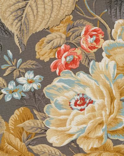 home decor print fabric waverly floral flourish clay jo ann floral flourish clay fabric