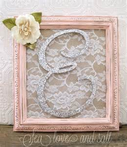 Pink Shabby Chic Bedroom Ideas - best 25 framed letters ideas on pinterest wall initials monogram wall decorations and framed