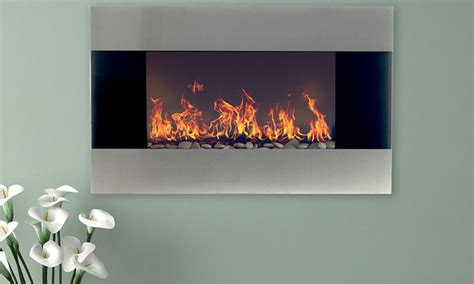 northwest 36 quot electric fireplace groupon goods