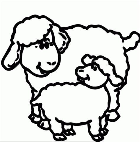 clipart de ovejas para colorear imagui dibujos ovejas para pintar imagui
