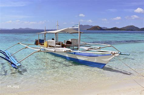 Country Home Plans by Bangka Boat Banol Beach Palawan A Photo From Palawan