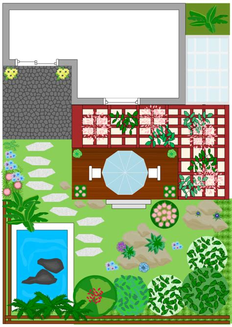 backyard landscape design templates roof garden design exles and templates