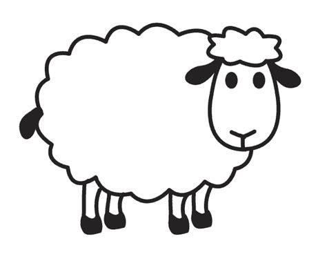 small sheep coloring page раскраска овца детские раскраски распечатать скачать