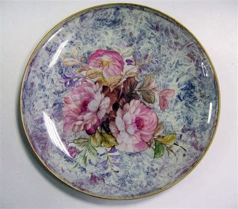 How To Decoupage Plates - 92 best decoupage glass plate images on