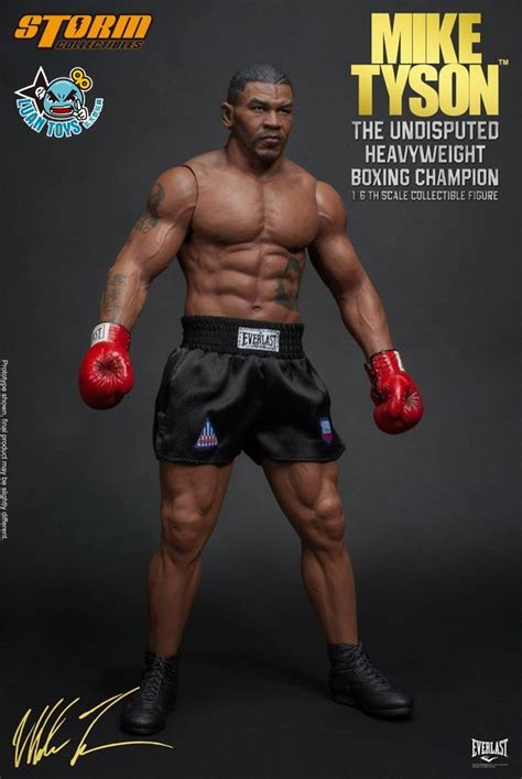 Boxer Mike Avenger Biru 發行 world weight class boxing chion 世界重量級拳擊冠軍 拳王 mike tyson 麥克泰森 世界冠軍版 發售消息