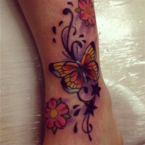 tattoo butterfly and stars 25 exotic butterfly and star tattoos