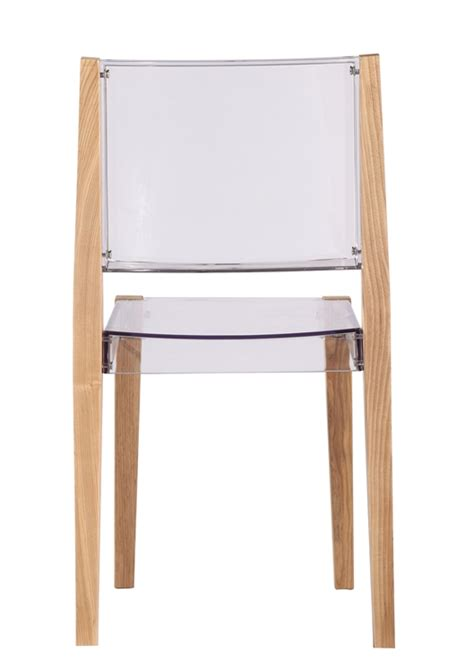Square Chairs by Clear Wood Square Chair Modern Furniture Brickell