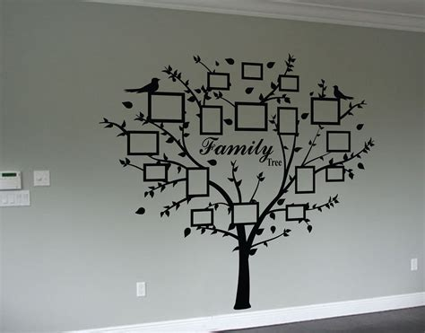 family tree stickers for walls family photo tree wall decal wall decal sticker