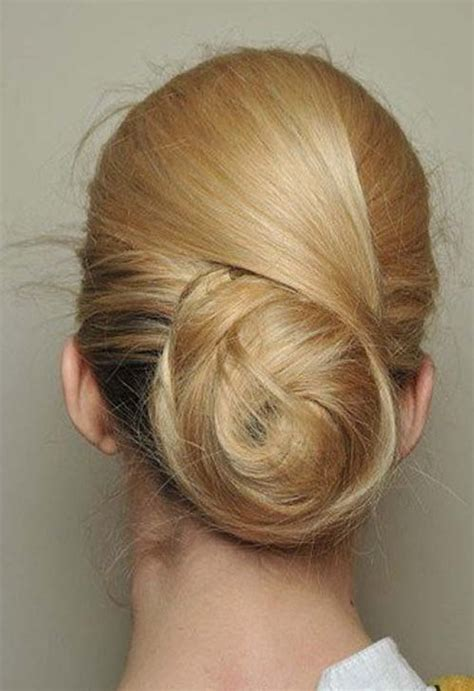 classic hairstyles buns low swirling highlighted chignon updo styles weekly