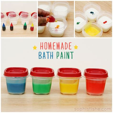 homemade bathtub paint homemade bath paint kids pinterest
