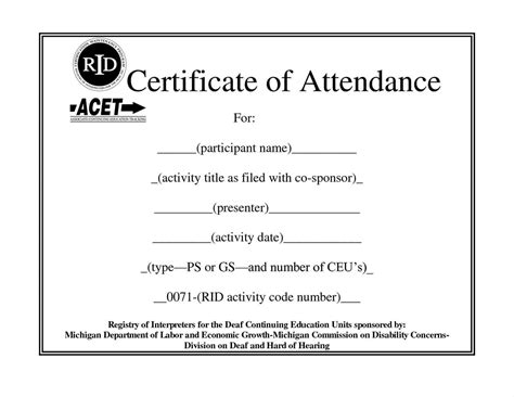 training certificate template microsoft word templates