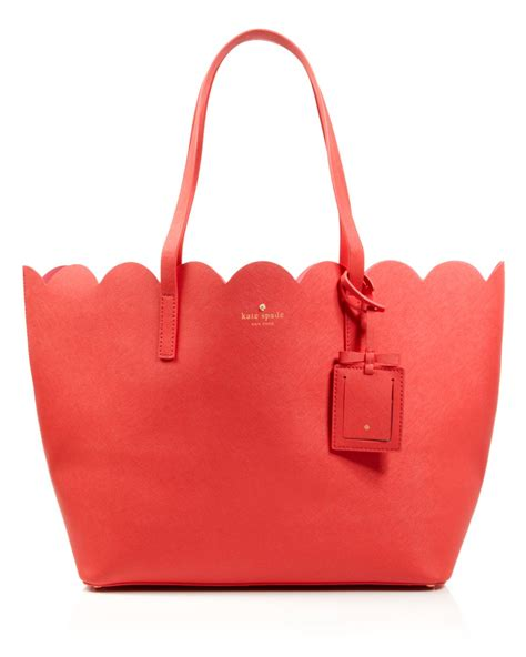 kate spade new york lyst kate spade new york tote lily avenue carrigan in red