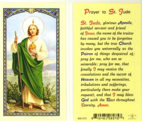 about us st jude st paul s ce primary school national shrine of our lady of czestochowa prayer cards