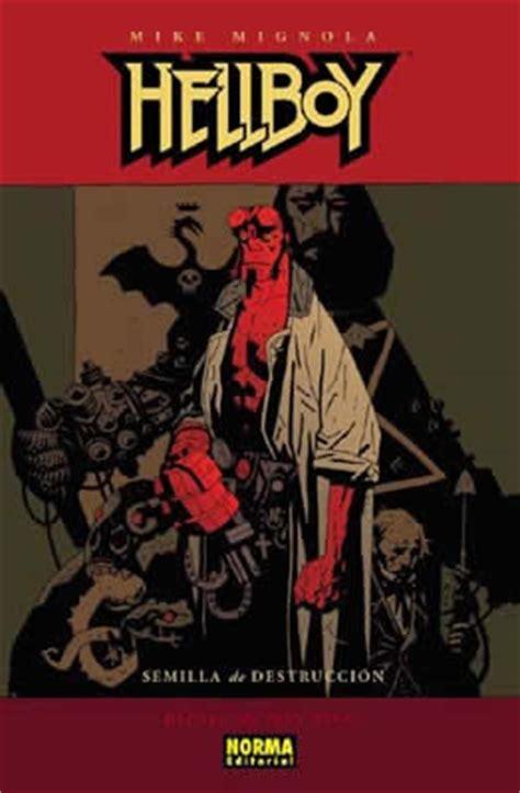 libro hellboy 1 semilla de hellboy 01 semilla de destrucci 211 n ed carton 233 norma editorial