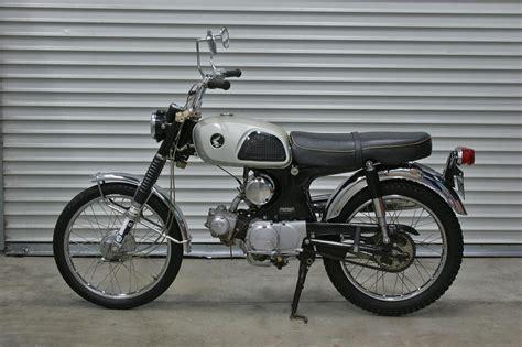 Honda Cl90 by Sweet 1967 Honda Cl90 Motorcycle Hughes Estate Sales