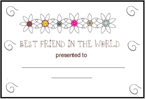 Friendship Color In Card Templates by Best Friend Forever Coloring Pages Coloring Pages
