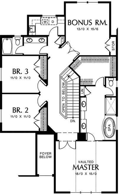 European Style House Plan   3 Beds 2.5 Baths 2533 Sq/Ft