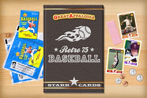 who makes baseball cards custom baseball cards retro 75 series cards