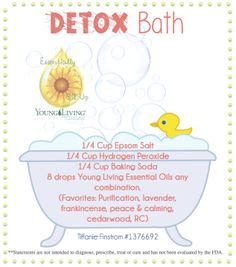Detox Bath Recipes For Allergies by 1000 Images About Oils On Essential Oils