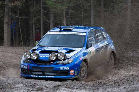 subaru rally subaru rally team canada claims second at rocky mountain rally