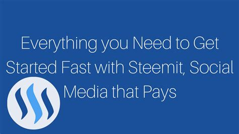 everything you need to about social media without to call a kid books everything you need to get started fast with steemit