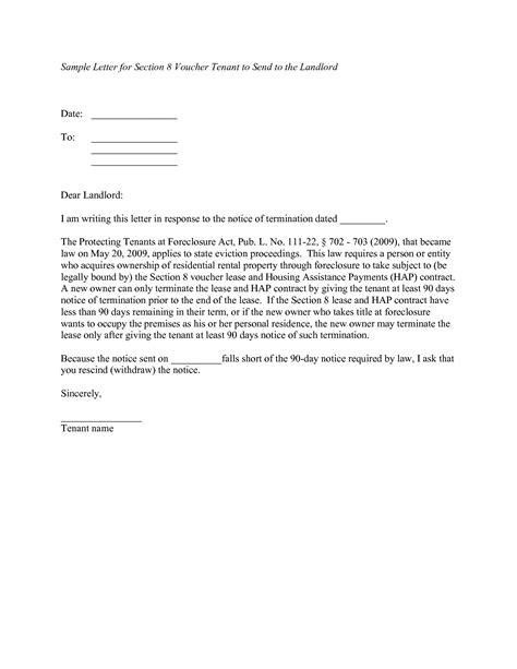 notice to landlord template 10 best images of tenant notice letter template tenant