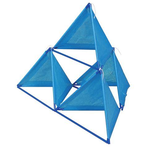 tetrahedron kite template kazoon kites
