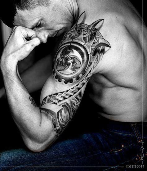 black and white tattoos for men 73 shoulder tattoos