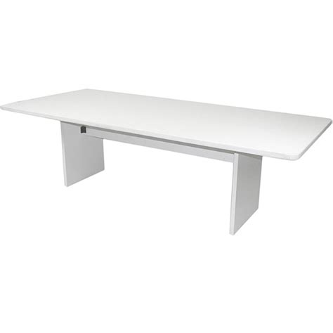 White Conference Table Cf609 Rectangular Conference Table48 X 96 White