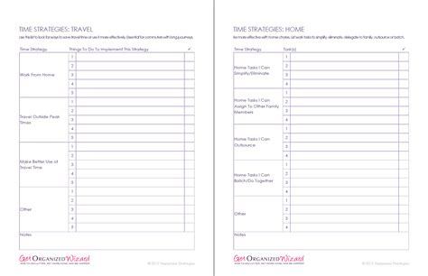 Time Management Worksheet by Time Management Worksheets Productivity Planners To Do