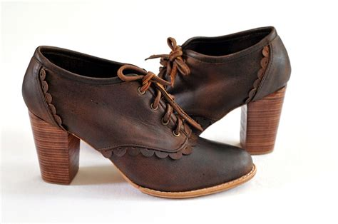 oxford shoes heels lace leather oxford shoes brown leather oxfords oxford