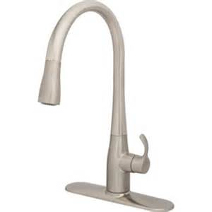 kohler simplice kitchen faucet kohler simplice kitchen faucet pull vibrant stainless 1 8 gpm hd supply