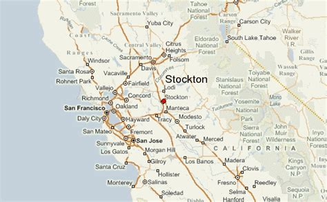 california map stockton map of stockton california vacations travel map