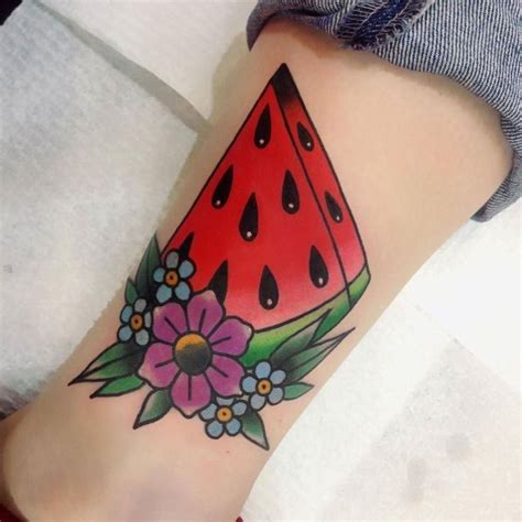 watermelon tattoo 25 best watermelon flower ideas on beautiful