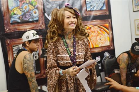japanese tattoo artist manila photos tattoo enthusiasts get to the point in manila