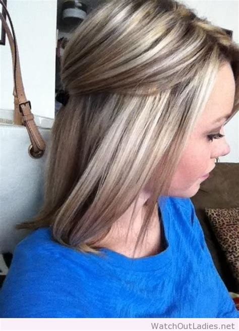 low light hair foiling placements highlights and lowlights wish i could go this blonde