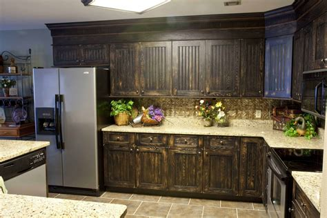 Refurbishing Kitchen Cabinet Doors 3 Tips On How To Refinish The Kitchen Cabinets Ward Log Homes